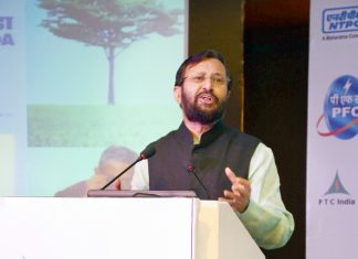The Union Minister for Human Resource Development, Shri Prakash Javadekar
