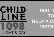 Child helpline number 1098