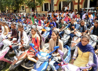 scooty vitran in school for girls
