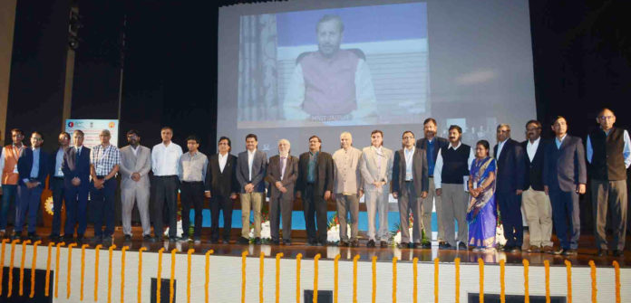 The Union Minister for Human Resource Development, Shri Prakash Javadekar through video conferencing launched the 'Institution's Innovation Council (IIC)' program under Innovation cell of MHRD, in New Delhi on November 21, 2018.